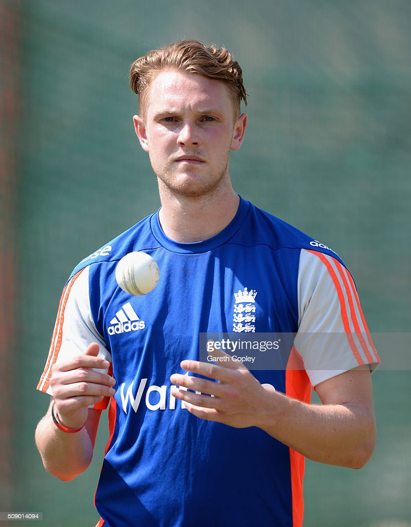 Jamie Porter of England during a nets session at Supersport Park on February 8, 2016 in Centurion, South Africa.