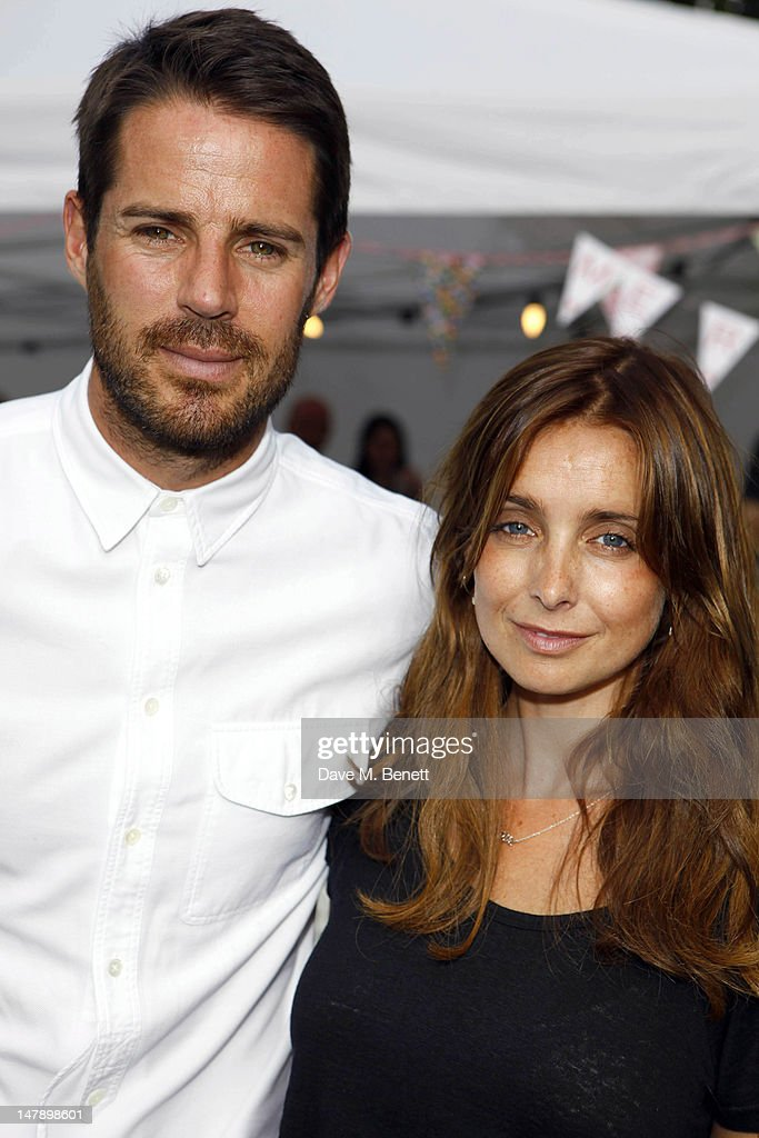Jamie Redknapp and Louise Redknapp attend the 2012 House Festival UK at Chiswick House and Gardens on July 5 2012 in London England