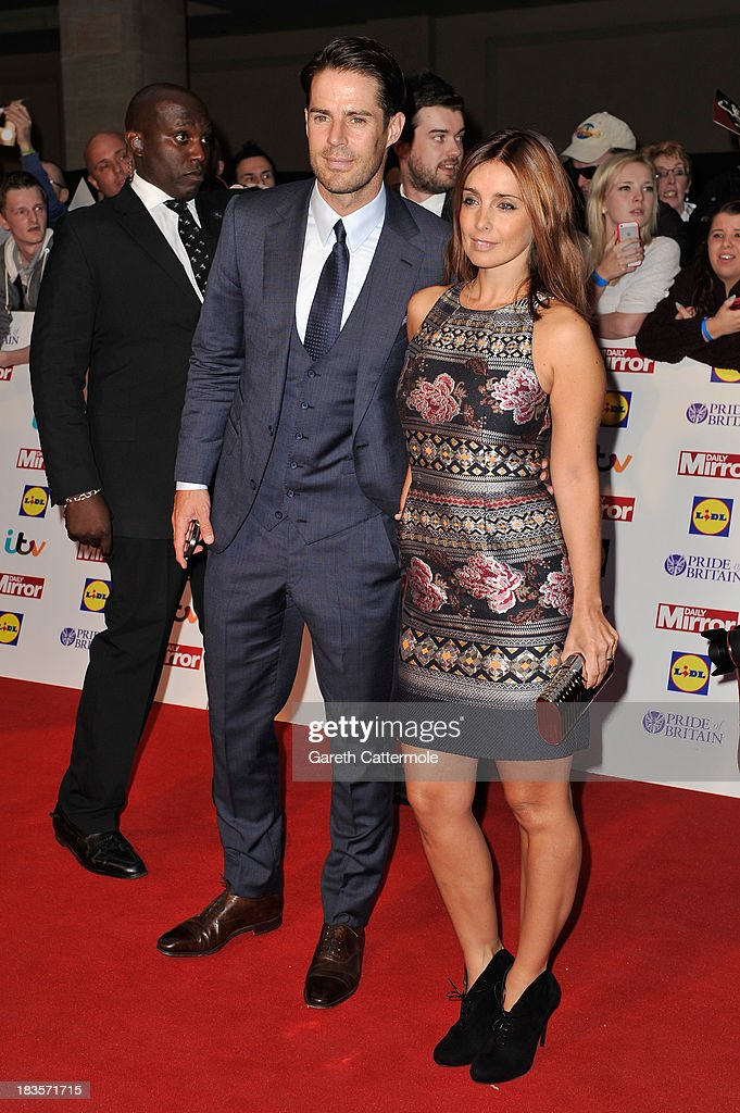 Jamie Redknapp and Louise Redknapp attend the Pride of Britain awards at Grosvenor House on October 7, 2013 in London, England.