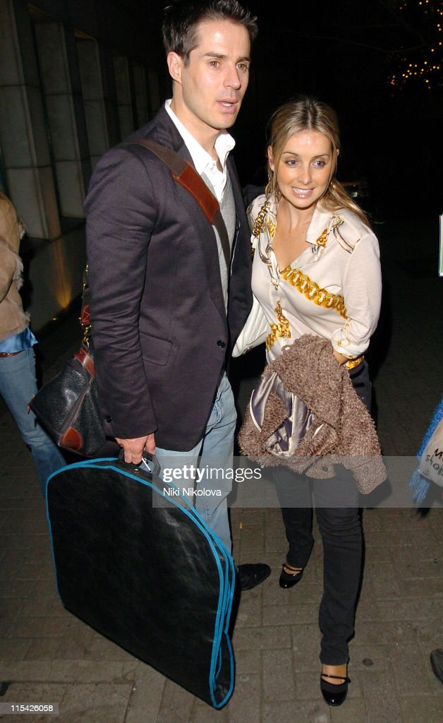 Jamie Redknapp and Louise Redknapp during Jamie Redknapp and Louise Redknapp Sighting at Nobu in London March 19th 2006 at Nobu Restaurant in London...