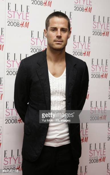 Jamie Redknapp arrives for the ELLE Style Awards 2008 The Westway off Latimer Road W10