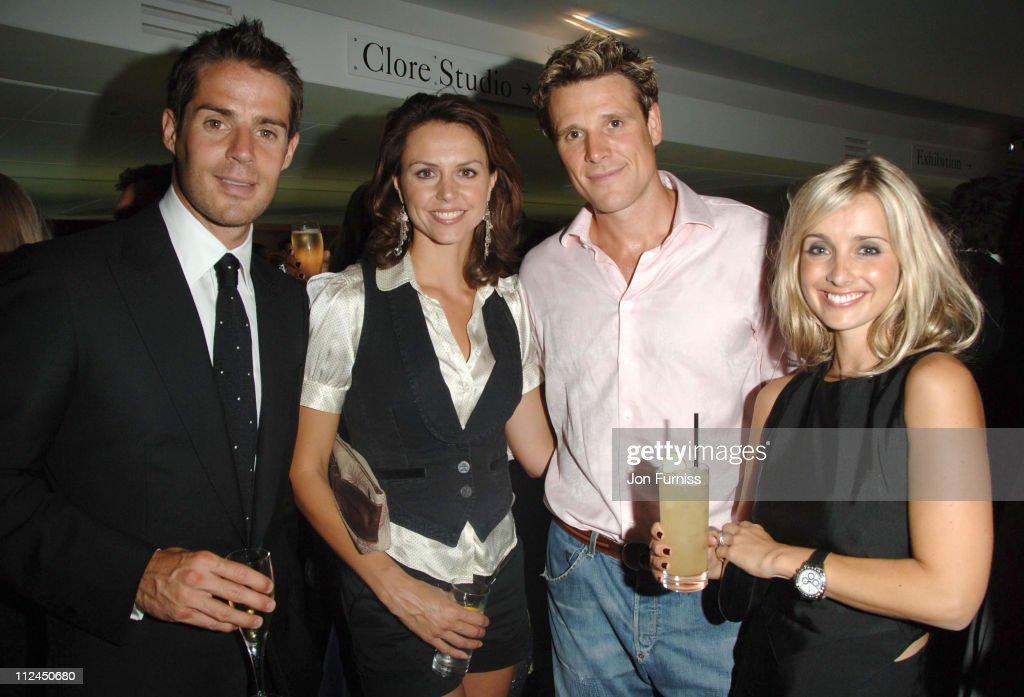 Jamie Redknapp, Beverley Turner, James Cracknell and Louise Redknapp