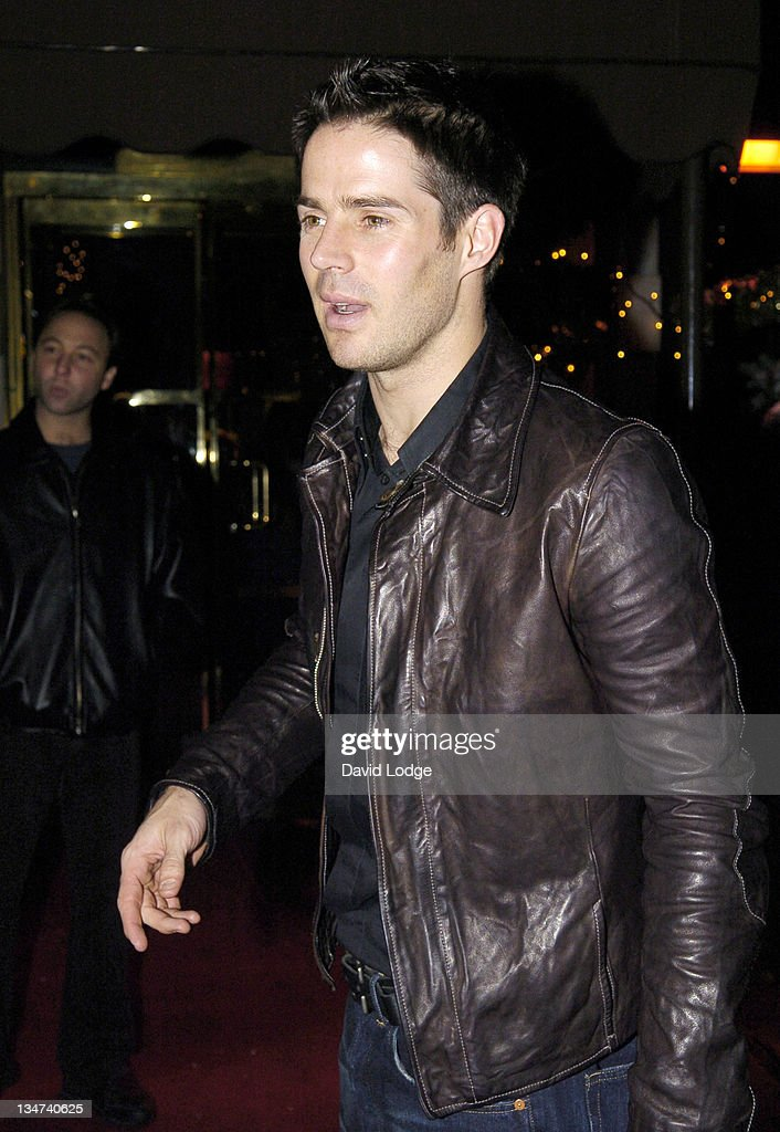 Jamie Redknapp during Fight for Life Fundraiser December 12 2005 at Hard Rock Cafe Piccadilly in London Great Britain
