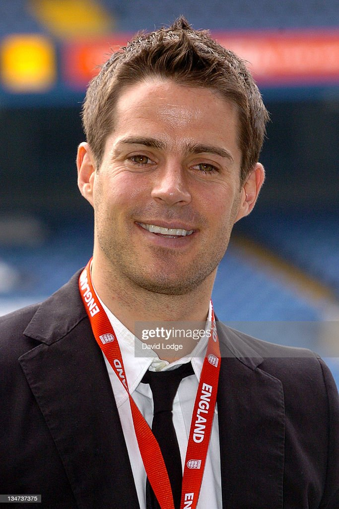 Jamie Redknapp during The Interactive Hand Held Football Game 'Match Master' Launch April 24 2006 at Stamford Bridge in London Great Britain