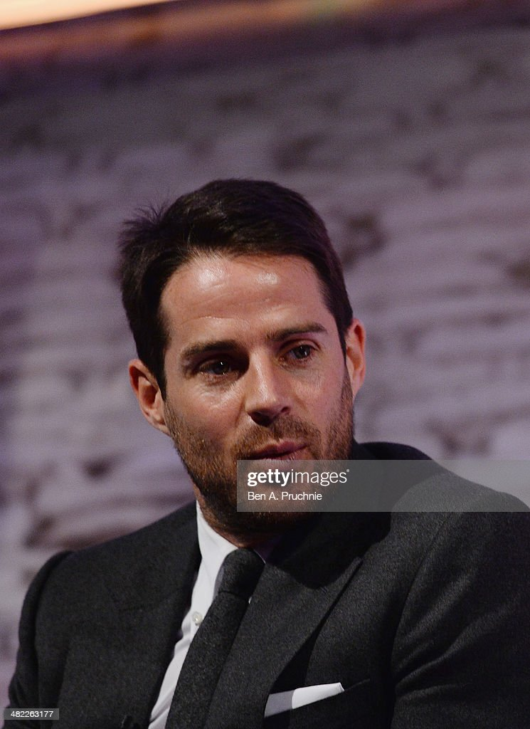 Jamie Redknapp, Former England and Liverpool midfielder; Daily Mail and MailOnline columnist; Sky Sports pundit at It's all Kicking Off at the ITV Stage at Princess Anne during day four of Advertising Week Europe held at BAFTA 195 Piccadilly on April 3, 2014 in London, England.