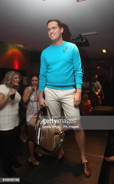 Jamie Reed from TOWIE takes part in a catwalk show at Funkymojoe in London to raise money for childrens charity Havens House