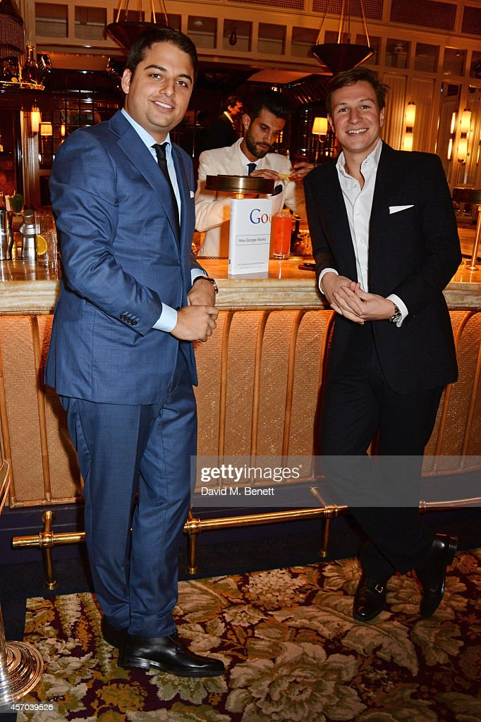 Jamie Reuben and Dave Clark attend the book launch party for 'How Google Works' by Eric Schmidt and Jonathan Rosenberg hosted by Jamie Reuben at The...