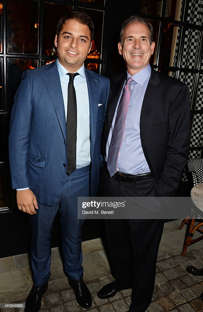 Jamie Reuben and Jonathan Rosenberg attend the book launch party for 'How Google Works' by Eric Schmidt and Jonathan Rosenberg hosted by Jamie Reuben...