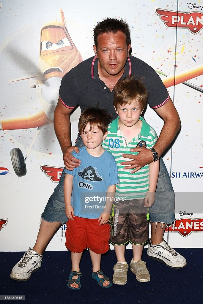 Jamie Rickers attends special screening of 'Planes' at Odeon Leicester Square on July 14, 2013 in London, England.