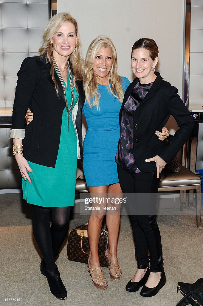 Jamie Sherrill, Rachel Zali and Hadley Davis attend Women A.R.E. Salon Event Featuring Home Shopping Network's CEO Mindy Grossman at SLS Hotel on April 29, 2013 in Beverly Hills, California.