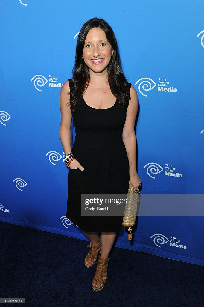 Jamie Shupak attends the Time Warner Cable Media 'Cabletime' Upfront at Yotel Hotel on June 7, 2012 in New York City.