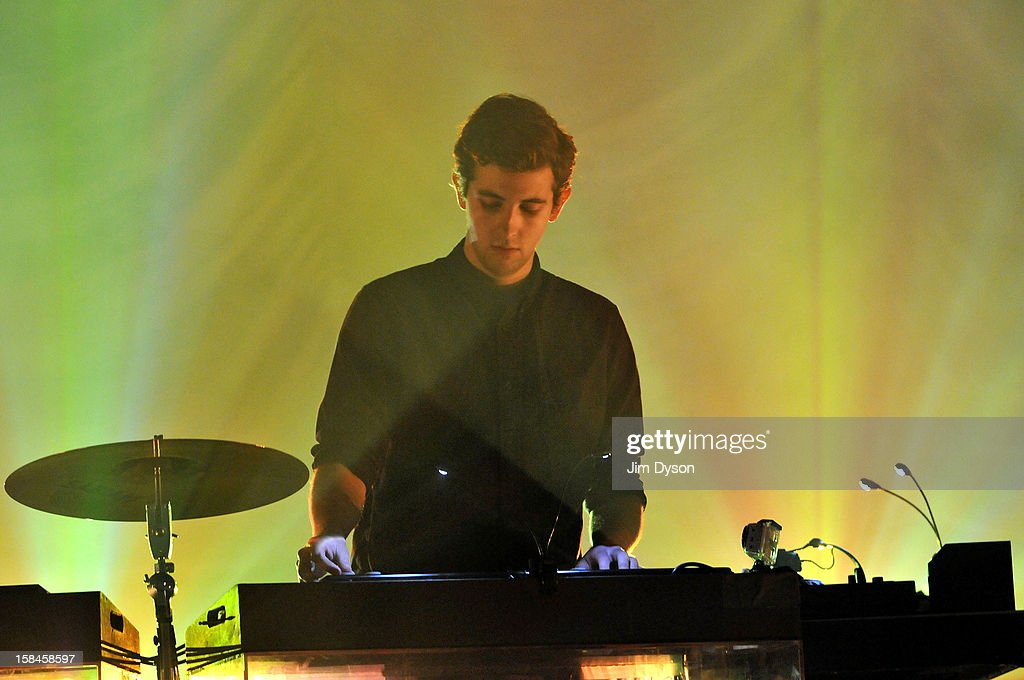 Jamie Smith of The XX performs live on stage at Brixton Academy on December 16, 2012 in London, England.