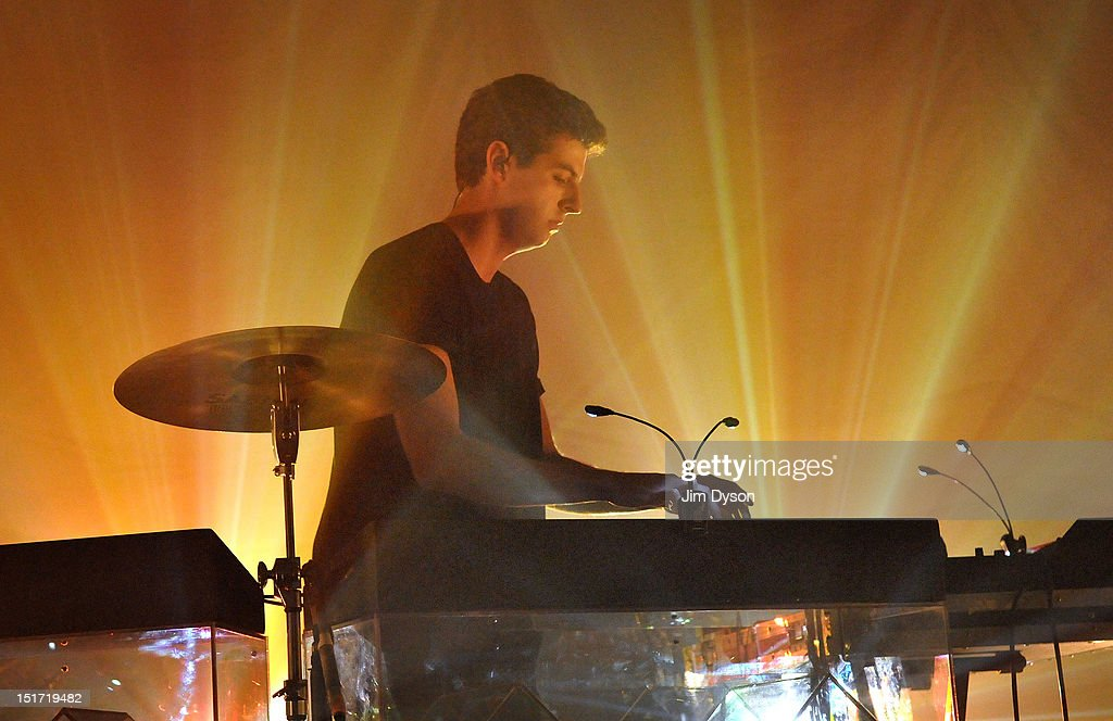Jamie Smith of The XX performs live on stage at Shepherds Bush Empire to support the release of their second album, Coexist, on September 10, 2012 in London, United Kingdom.