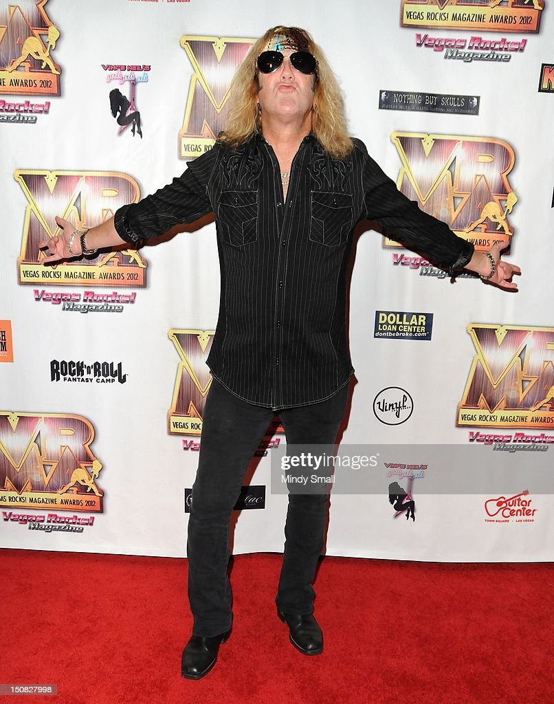 Jamie St James walks the red carpet at the Vegas Rocks! Magazine Awards on August 26, 2012 in Las Vegas, Nevada.