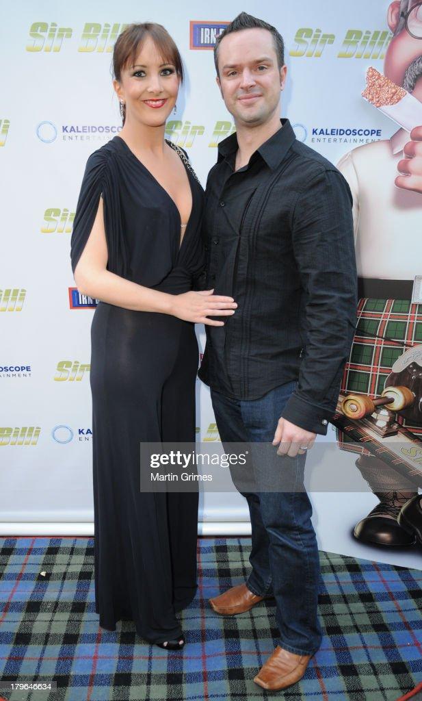 Jamie Still and Laura Still attend the 'Sir Billi' press screening at The Grosvenor Cinema on September 5, 2013 in Glasgow, Scotland.