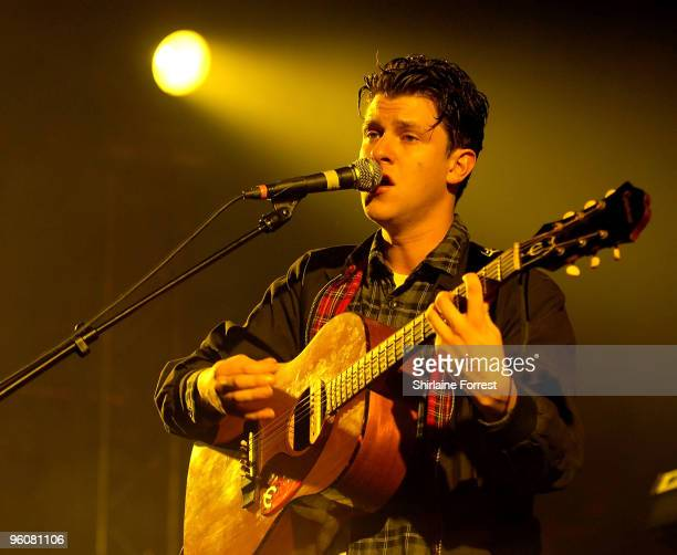 Jamie T performs at Manchester Academy on January 23 2010 in Manchester England