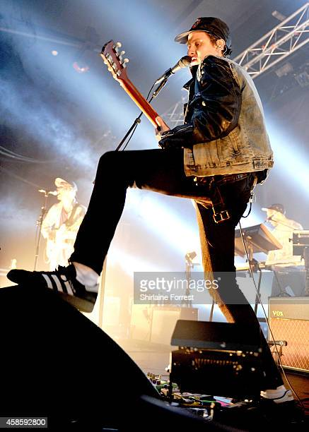 Jamie T performs at Manchester Academy on November 7 2014 in Manchester England