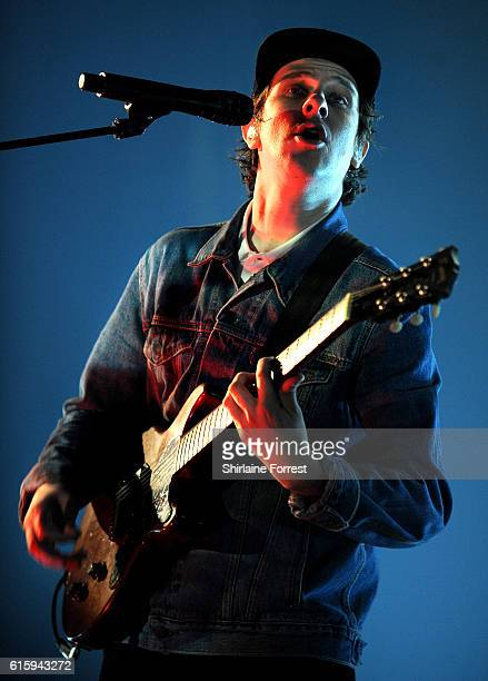 Jamie T performs at O2 Apollo Manchester on October 20 2016 in Manchester England