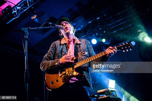 Jamie T performs live on stage during a concert at Astra on November 7 2016 in Berlin Germany