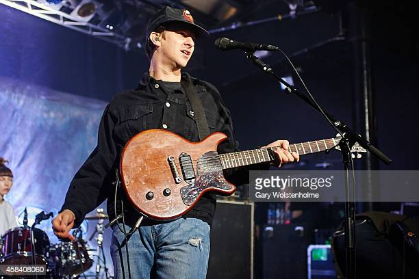 Jamie T performs on stage at Rock City on November 4 2014 in Nottingham United Kingdom