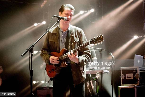 Jamie T performs on stage at The Sage Gateshead for BBC 6 Music Festival 2015 on February 22 2015 in Newcastle upon Tyne United Kingdom