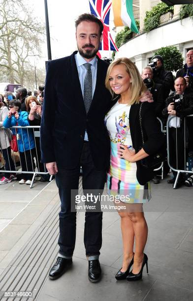 Jamie Theakston and Emma Bunton attending the TRIC Awards at the Grosvenor House Hotel in London