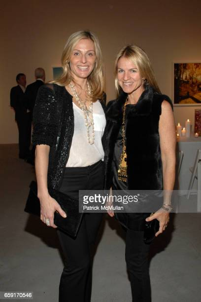 Jamie Tisch and Crystal Lourd attend An Intimate Dinner Hosted By Tierney Gearon and ACE Gallery In Preview of Her New Exhibition EXPLOSURE at ACE...