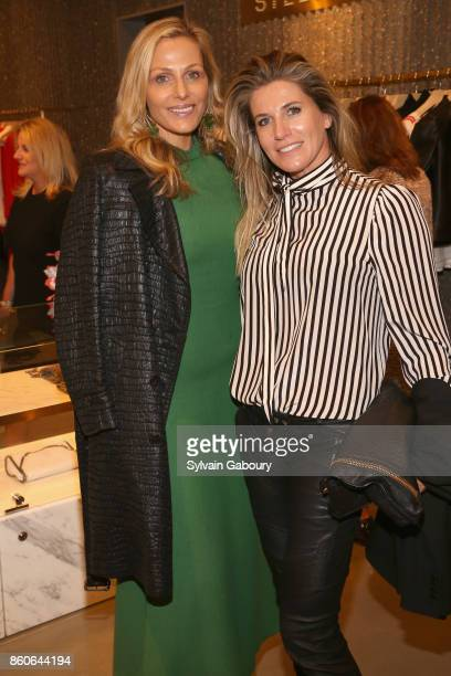 Jamie Tisch and Danielle Oerlemans attend Saks Fifth Avenue Luncheon to Benefit City Harvest at Saks Fifth Avenue on October 12 2017 in New York City