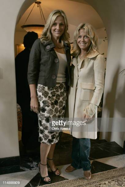 Jamie Tisch and Tracey Ross during Oliver Peoples Tracey Ross JovovichHawk and Richemont 2007 Oscar Luncheon at Private Residence in Beverly Hills...
