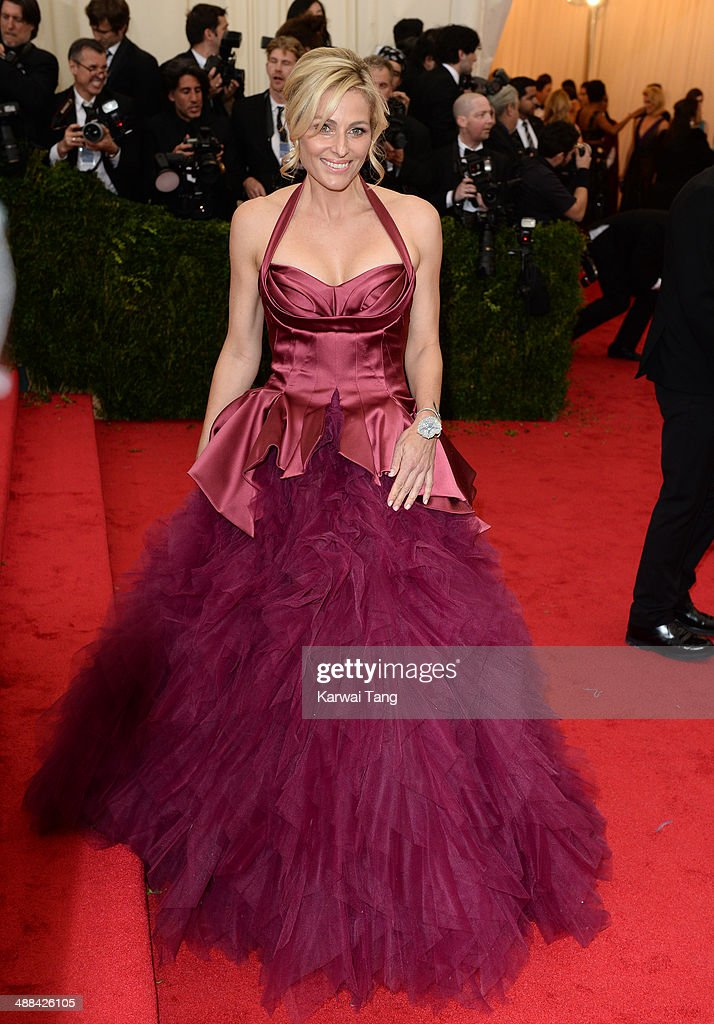 Jamie Tisch attends the 'Charles James: Beyond Fashion' Costume Institute Gala held at the Metropolitan Museum of Art on May 5, 2014 in New York City.