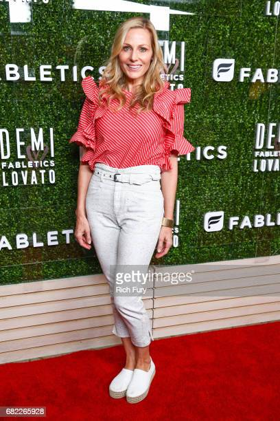 Jamie Tisch attends the launch of Fabletics Capsule Collection at the Beverly Hills Hotel on May 10 2017 in Los Angeles California