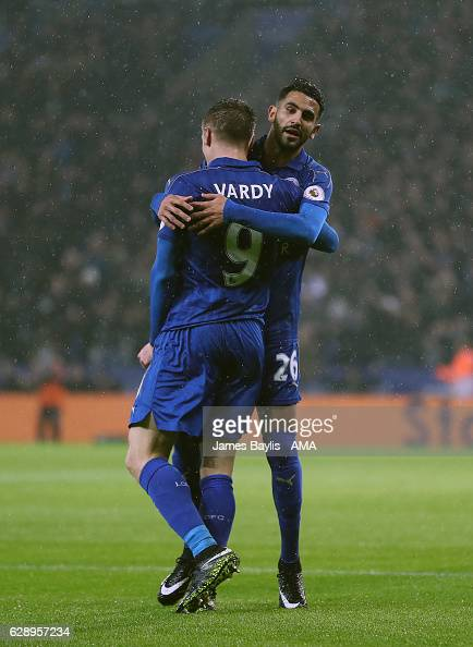 Leicester City v Manchester City - Premier League : Fotografía de noticias