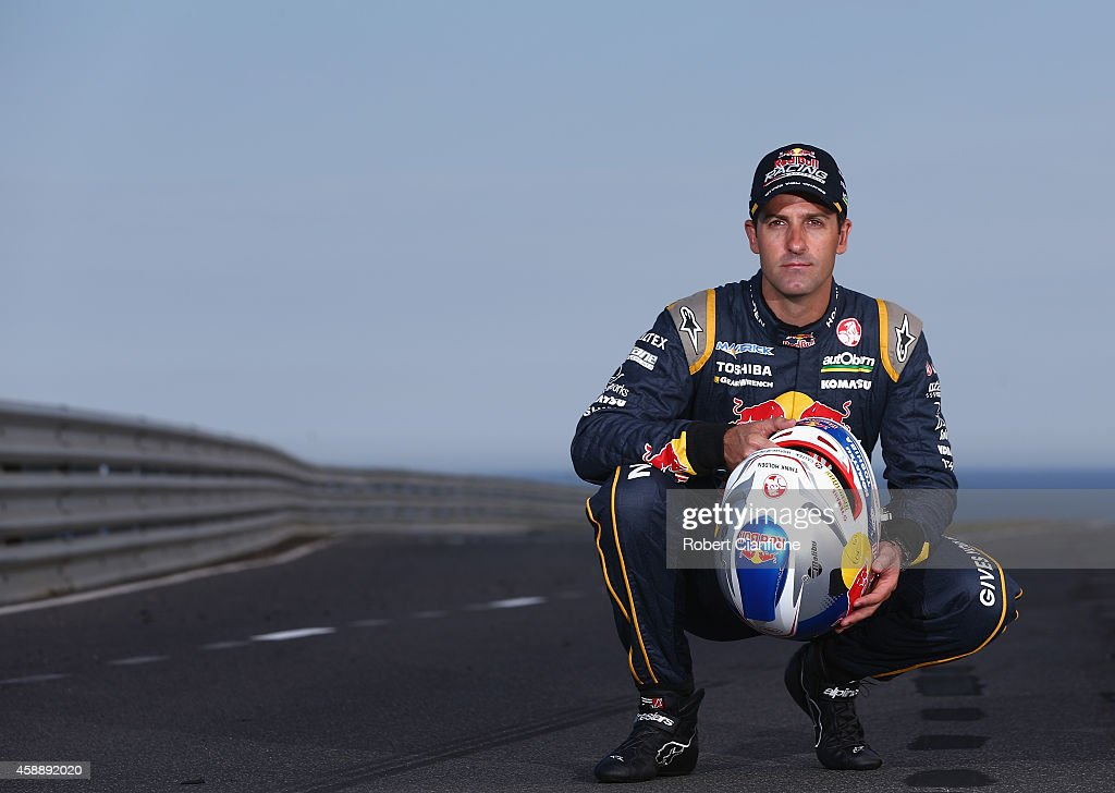 <a gi-track='captionPersonalityLinkClicked' href=/galleries/search?phrase=Jamie+Whincup&family=editorial&specificpeople=678654 ng-click='$event.stopPropagation()'>Jamie Whincup</a>, driver of the #1 Red Bull Racing Australia Holden poses during a V8 Supercar portrait shoot at Phillip Island Grand Prix Circuit on November 13, 2014 in Phillip Island, Australia.