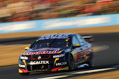Jamie Whincup drives the Red Bull Racing Australia Holden during race 24 for the Ipswich 400 which is round eight of the V8 Supercar Championship...