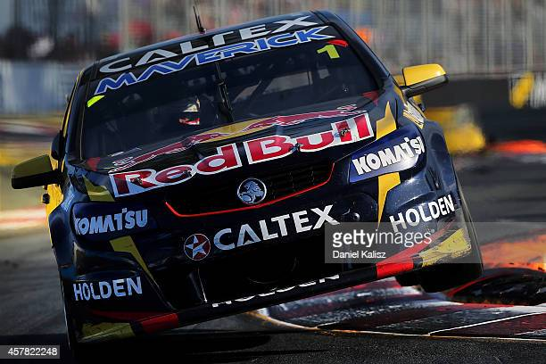 Jamie Whincup drives the Red Bull Racing Australia Holden during race 31 for the Gold Coast 600 which is round 12 of the V8 Supercars Championship...