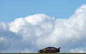 Jamie Whincup drives the Red Bull Racing Australia Holden during race 35 at the Phillip Island 400 which is part of the V8 Supercar Championship...