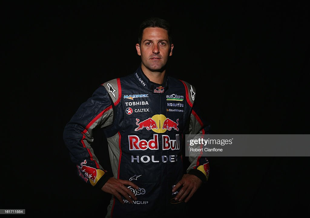 Jamie Whincup of Red Bull Racing Australia poses during a V8 Supercars driver portrait session at Eastern Creek Raceway on February 15, 2013 in Sydney, Australia.