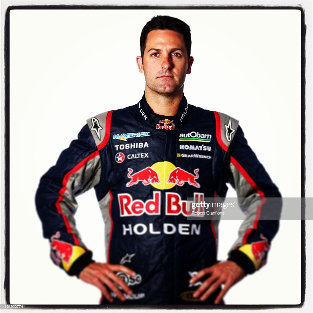 <a gi-track='captionPersonalityLinkClicked' href=/galleries/search?phrase=Jamie+Whincup&family=editorial&specificpeople=678654 ng-click='$event.stopPropagation()'>Jamie Whincup</a> of Red Bull Racing Australia poses during a V8 Supercars driver portrait session at Eastern Creek on February 15, 2013 in Sydney, Australia.
