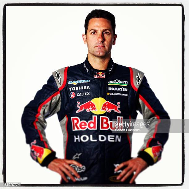 Jamie Whincup of Red Bull Racing Australia poses during a V8 Supercars driver portrait session at Eastern Creek on February 15 2013 in Sydney...