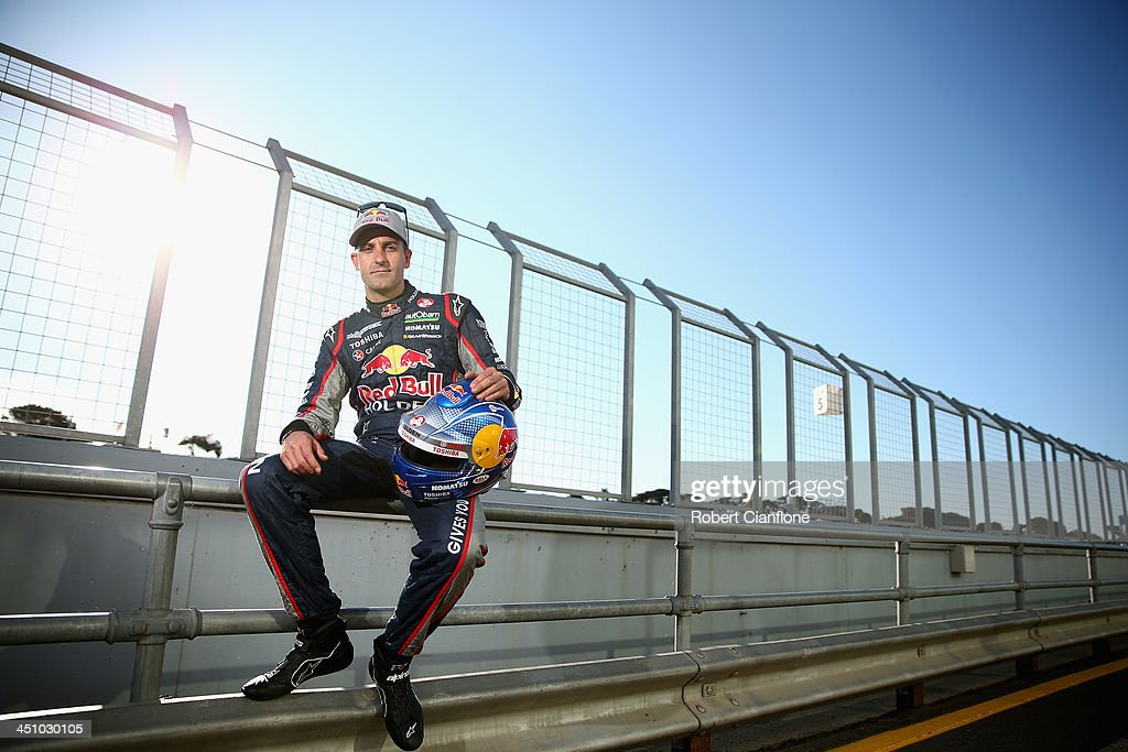 Jamie Whincup of Red Bull Racing Australia poses for a portrait ahead of round 13 of the V8 Supercars Championship Series at Phillip Island Grand...