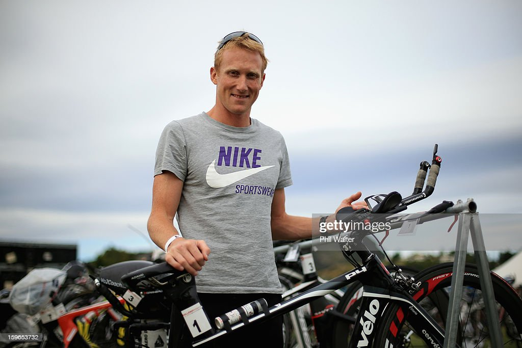 Jamie Whyte of New Zealand poses for a portrait prior to the Challenge Wanaka on January 18, 2013 in Wanaka, New Zealand.
