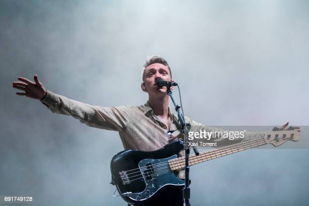 Jamie xx of The XX performs in concert during day 3 of Primavera Sound 2017 on June 2 2017 in Barcelona Spain