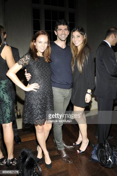 Jamie Yike Daniel Cappello and Elizabeth Brown attend Gwyneth Paltrow and VBH's Bruce Hoeksema Host Cocktail Party for Valentino The Last Emperor at...