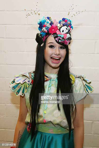 JamieLee Kriewitz attends the 'Eurovision Song Contest 2016 Unser Lied fuer Stockholm' show on February 25 2016 in Cologne Germany