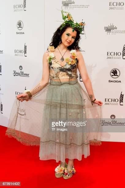 JamieLee Kriewitz on the red carpet during the ECHO German Music Award in Berlin Germany on April 06 2017