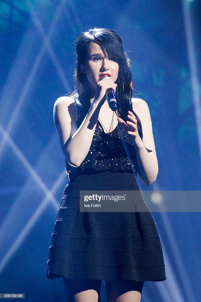 Jamie-Lee Kriewitz performs during the Green Tec Award at ICM Munich on May 29, 2016 in Munich, Germany.