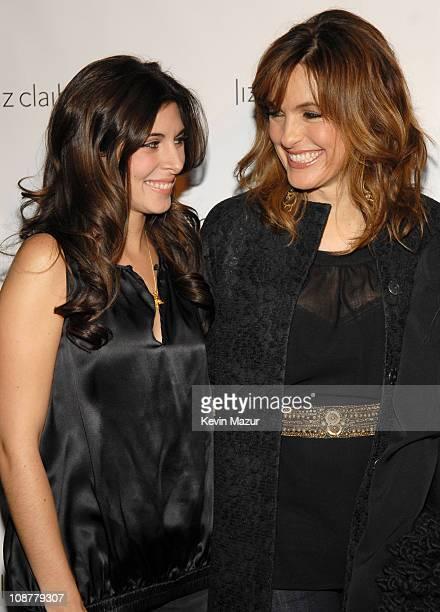 JamieLynn Sigler and Mariska Hargitay during Liz Claiborne 'New Look of Liz' Event with Mariska Hargitay at Museum of Modern Art in New York City New...