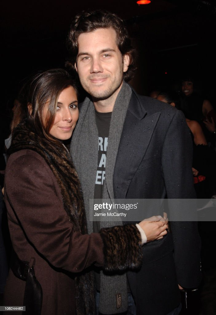 JamieLynn Sigler and Scott Sartiano during MercedesBenz Fashion Week Fall 2007 Baby Phat Backstage and Front Row at Roseland Ballroom in New York...