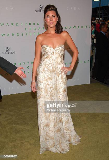 JamieLynn Sigler during 2006 CFDA Awards Arrivals at New York Public Library in New York City New York United States
