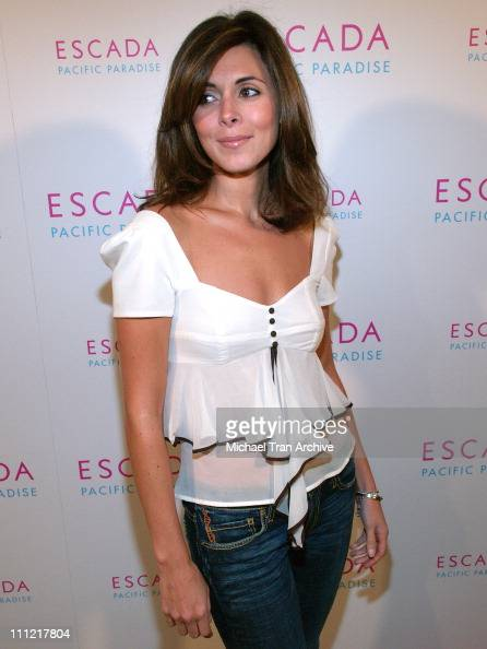 JamieLynn Sigler during Launch of Escada's Newest Scent 'Pacific Paradise' at Lobby in West Hollywood California United States